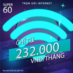 Gói Cước Internet FPT Super 60M